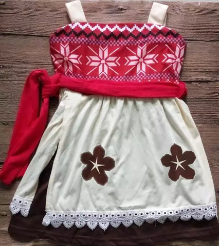 Moana inspired dress ***4 week delivery time***