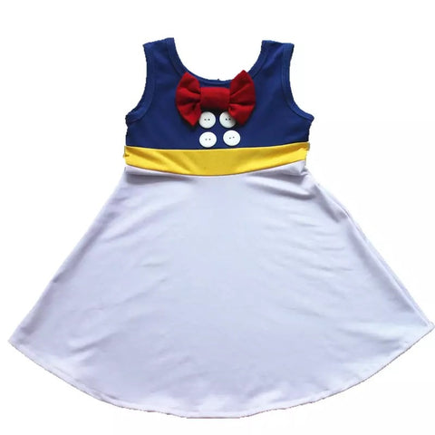 Donald inspired dress ***Pre-order! 4 week delivery time***