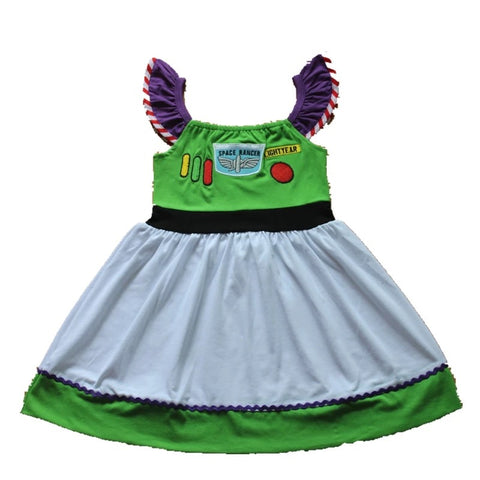 Buzz inspired dress ***Pre-Order!! 4 week delivery time***