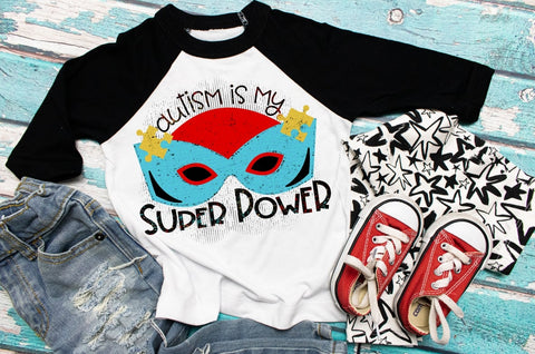Kids autism shirt, superhero tee, Autism Awareness Tshirt