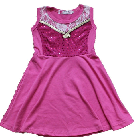 Pink Elsa inspired dress ***4 week delivery time***