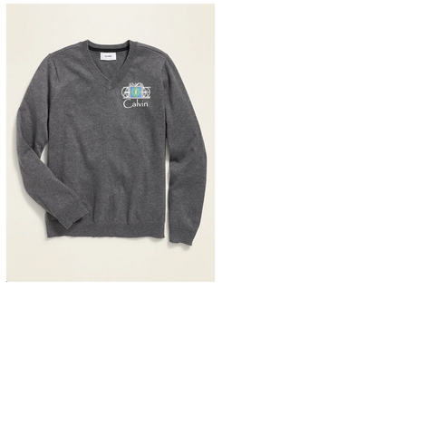 Seeds Academy Uniform-Boys sweater (charcoal)
