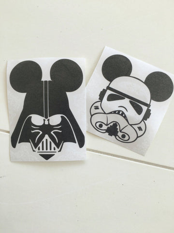 Darth or stormtrooper Decal