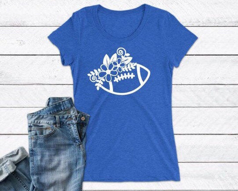 Girly Football shirt, womens football T-shirt, , fall shirt, football tee, friday night lights, football team, sports shirt, Sunday funday