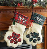 Cat and Dog pet stockings