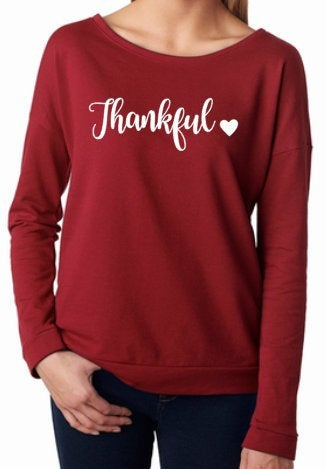 Thankful sweater