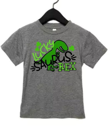 St patricks day shirt for kids, Trex shirt, dinosaur shirt, kids green shirt, Shamrock shirt, pinch proof, st pattys day, lucky shirt