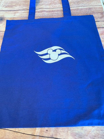 DCL cotton tote bag with flag