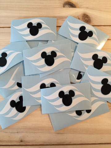 Disney cruise decal, Disney cruise line, fish extender gifts, FE gift, disney decals, mouse sticker, cruise flag, cruise decor, cruise gift