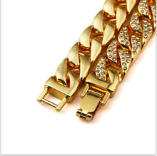Load image into Gallery viewer, Miami Gold Cuban link Bracelet