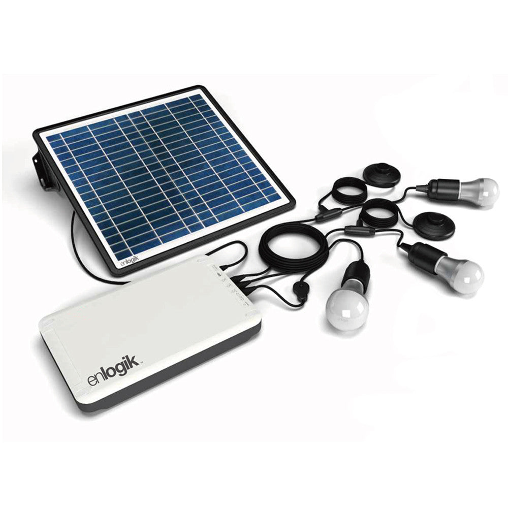 Solar Home Lighting System 3 - enlogik™