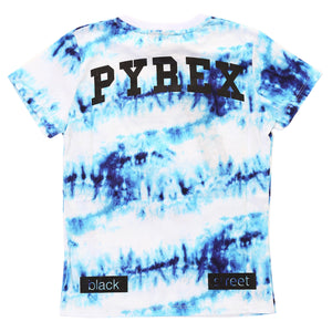 T-shirt PYREX tie dye turchese - Junior & Co.it