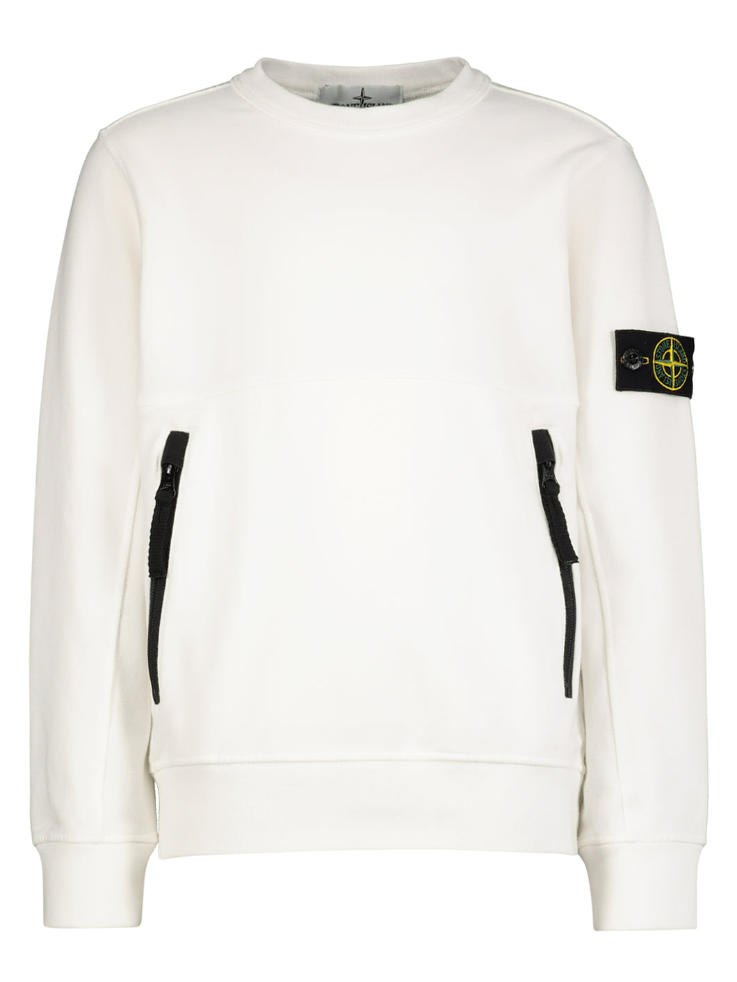 Felpa Stone Island bianca - Junior & Co.it