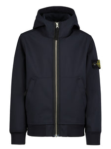 Giubbotto Stone Island neoprene blu - Junior & Co.it