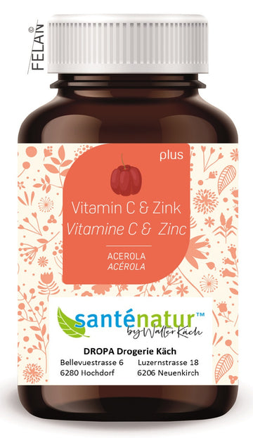 Santénatur Vitamin C & Zink plus Ds 100 Stk