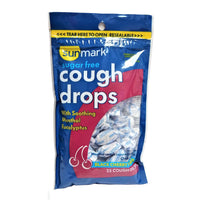 Sunmark Sugar-Free Cough Drops, Black Cherry, 25 Count, 1 Each, By Sunmark
