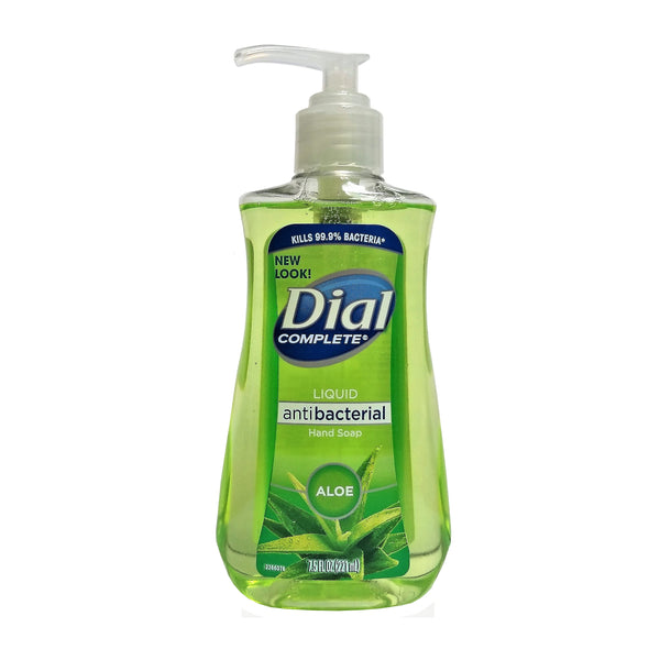 Dial Antibacterial Liquid Hand Soap With Aloe, 7.5 Oz., 1 Each, By The Dial Corporation