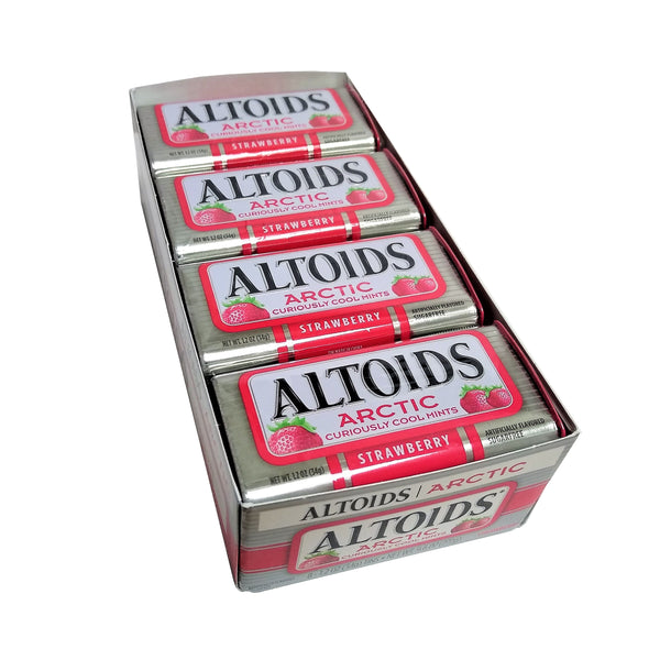 Altoids Arctic Strawberry Mints 1.2 Oz., 8 Ct., 1 Pack Each, By Callard And Bowser