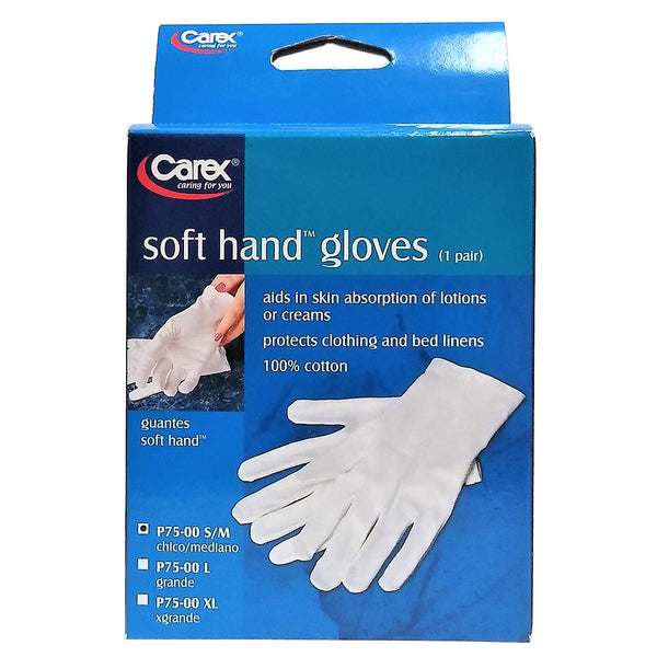 Carex® Soft Hand™ Gloves, Size S/M, 1 Pair Each, By Carex Health Brands