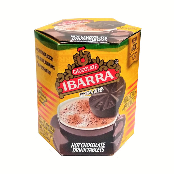 Ibarra Chocolate Genuine Mexican Hot Cocoa Tablets, 1 Box, By Chocolatera De Jalisco