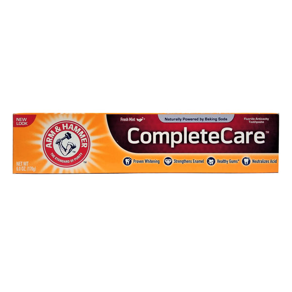 Arm & Hammer Complete Care Toothpaste, Fresh Mint, 6 Oz., 1 Each, By Church And Dwight