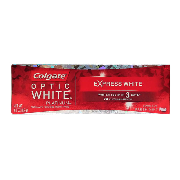 Colgate Optic White Express White Whitening Toothpaste, 3 Oz., 1 Each, By Colgate-Palmolive