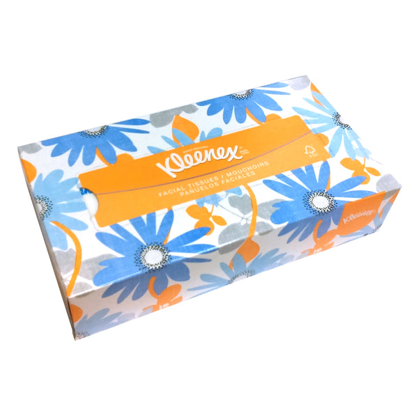 Kleenex Facial Tissues, 100 Count, 1 Case Of 36 Boxes, By Kimberly Clark