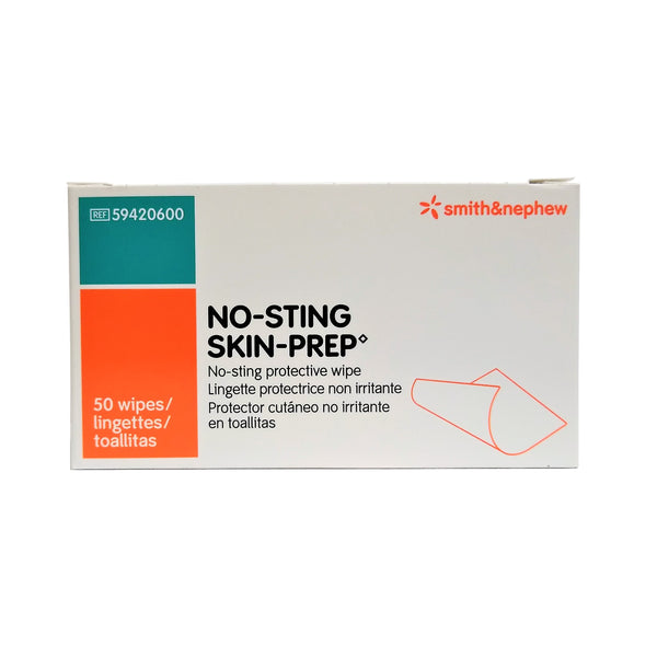 No-Sting Skin-Prep Protective Wipes, 50 Wipes, 1 Pack Each,  By Smith & Nephew