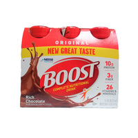 Boost Original Complete Nutritional Drink Rich, Chocolate, 8 Fl. Oz., 6 Ct., 1 Pack Each, By Nestle