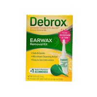 Debrox Earwax Removal Kit, Carbamide Peroxide 6.5%, Non USP, 0.5 Fl. Oz., 1 Box Each, By Medtech Products
