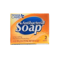 Personal Care Antibacterial Soap, 3 Oz,  2 Count, 1 Pack Each,  By Personal Care Products