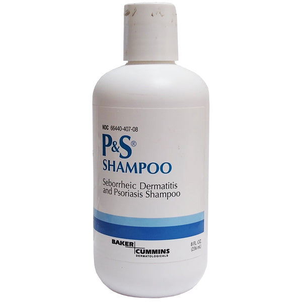 P&S Shampoo Seborrheic Dermatitis And Psoriasis Shampoo 8 Fl. Oz, 1 Each, By Baker Cummins