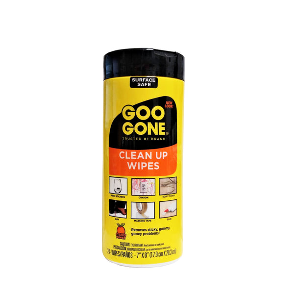 Goo Gone Clean Up Wipes, 24 Ct., 1 Each, By Weiman Products, LLC
