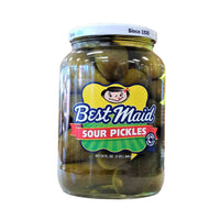 Best Maid Sour Pickles, 32 Fl. Oz., 1 Jar Each, By Best Maid