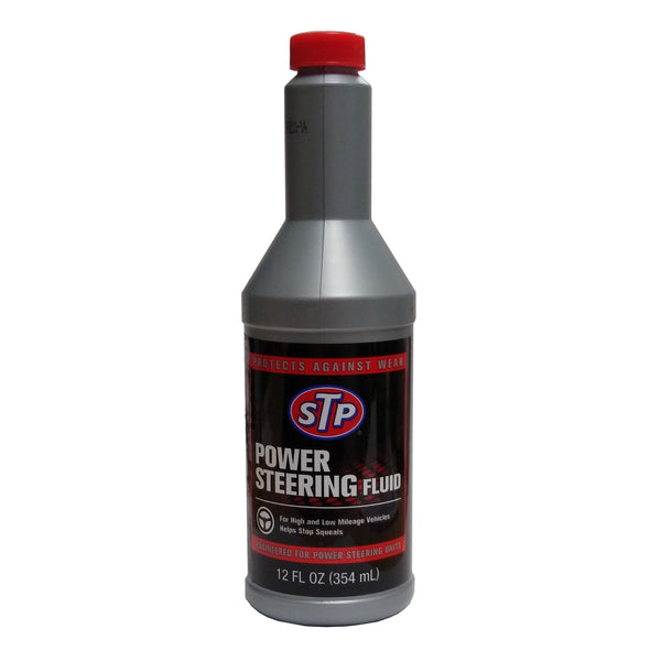 STP Power Steering Fluid 12 Oz, Case Of 6 Bottles, By Armor All