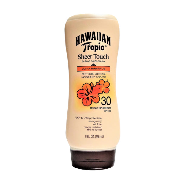Hawaiian Tropic®Sheer Touch Sunscreen Lotion, SPF 30, 8 Fl. Oz, 1 Each, By Edgewell