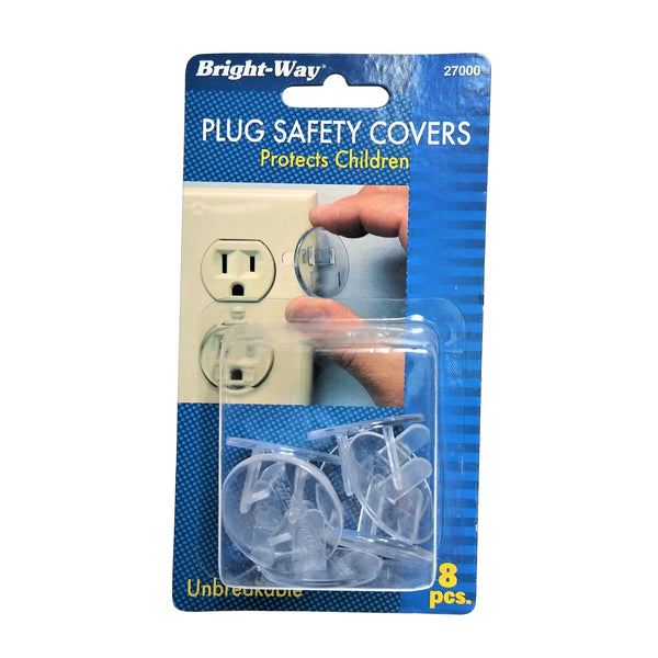 Plug Safety Covers, 8 Ct., 1 Pack Each, By Bright-Way
