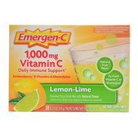 Emergen-C Immune + Vitamin D, 0.31 Oz., 30 Packets, Citrus, 1 Pack Each, By Alacer Corp.