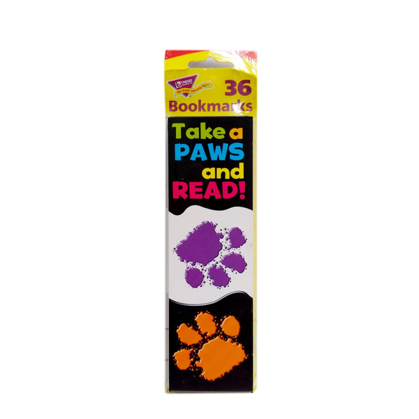 Trend Take A Paws And Read! Bookmarks 36 Count, 1 Pack Each, By Trend Enterprises
