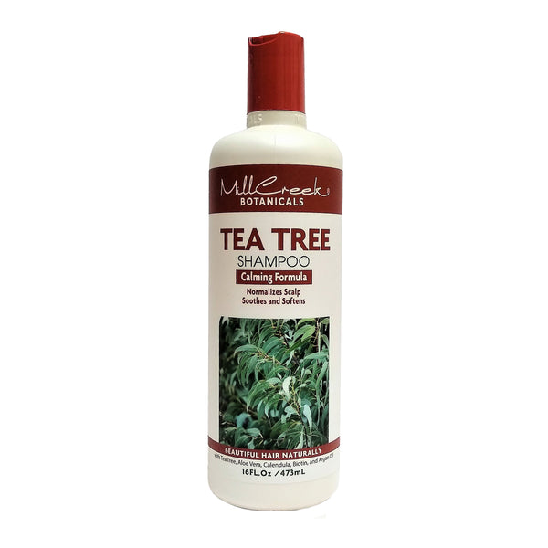 Mill Creek Tea Tree Shampoo, Calming Formula, 16 Fl Oz, 1 Each,  By Mill Creek Botanicals