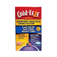 Cold-Eeze Day-Time And Night-Time, Mixed Berry, 24 Ct., 1 Box Each, By ProPhase Labs, Inc
