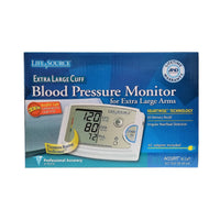 LifeSource Blood Pressure Monitor W/Extra Large Cuff UA-789AC, 1 Each,  By A&D Engineering, Inc.