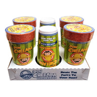 Michelada Lemon Lime Cups, 6 Count, 1 Pack Each,  By Don Chelada