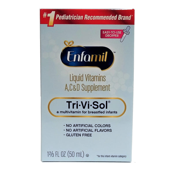 Enfamil Tri-Vi-Sol Supplement Drops, 50 mL., 1 Each, By Enfamil