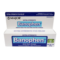 Banophen Extra Strength Anti-Itch Cream, 1 Oz., 1 Tube Each, By Major Pharmaceuticals