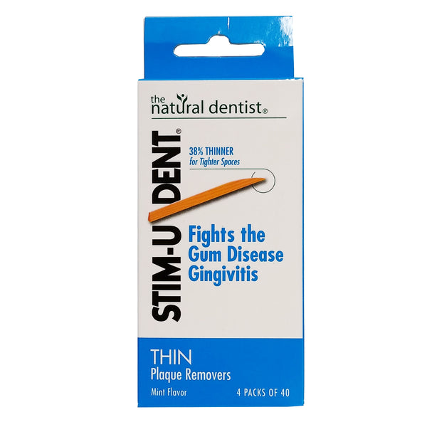 Stim-U-Dent Thin Plaque Removers, Mint Flavor, 160 Total Count ,1 Each, By Emerson Healthcare LLC