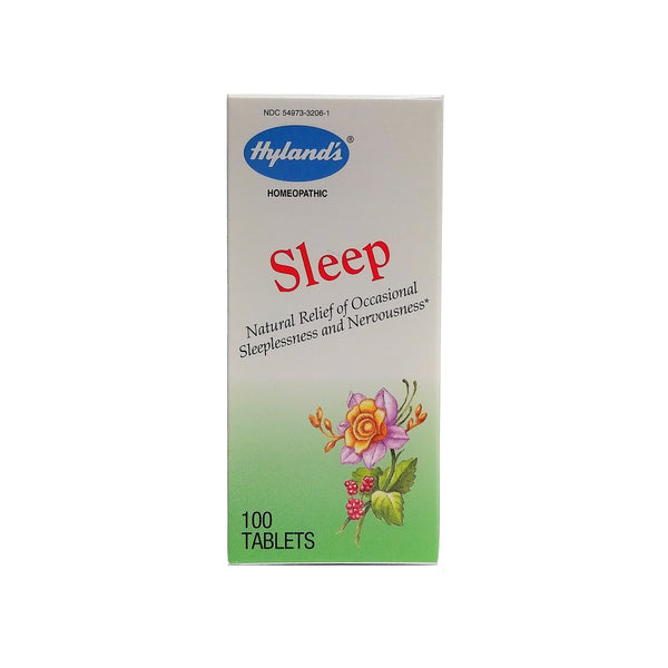 Hyland's Homeopathic Sleep Tablets, 100 Tablet, 1 Pack Each,  By Standard Homeopathic
