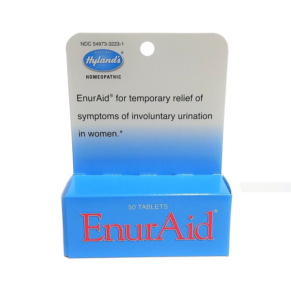 Hyland's Enuraid Homeopathic Incontinence Tablets, 50 Tablets, Case Of 36, By Hyland's