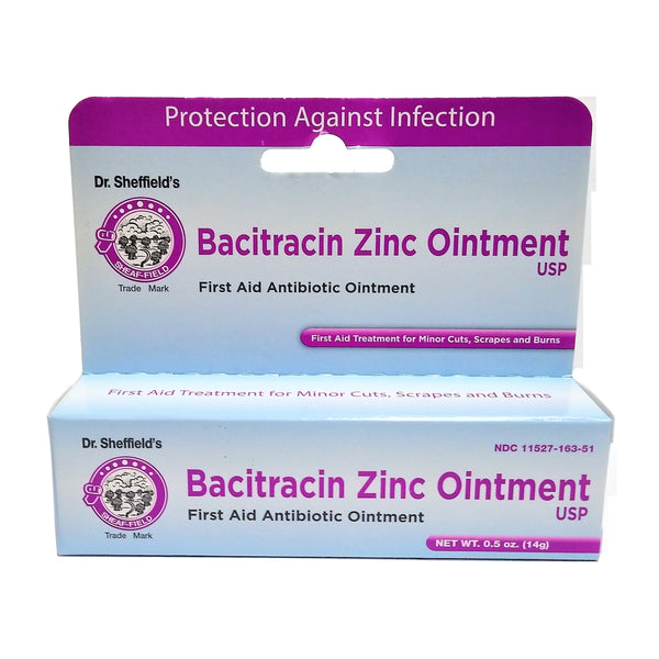 Bacitracin Zinc Ointment, 0.5 Oz., 1 Tube Each, By Sheffield Pharmaceuticals
