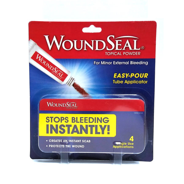 WoundSeal Topical Powder, 0.2 Oz, 4 Count, 1 Pack Each, By Biolife LLC